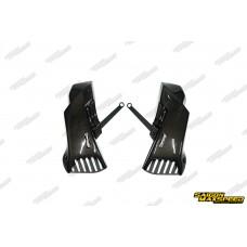 Tản Nhiệt Dĩa Thắng Carbon MOTOZAAA Honda CB650R/CBR650R (chính hãng)