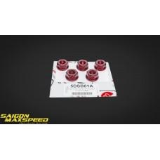 Bộ Ốc Tán Dĩa Sên 5 Lỗ DUCABIKE Ducati Hypermotard / Monster 796 (chính hãng)