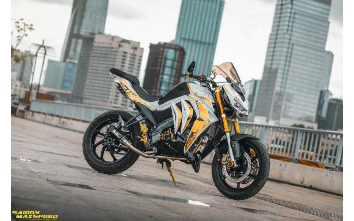 Yamaha FZ150i độ tiến hóa thành thành siêu phẩm Kawasaki Z1000